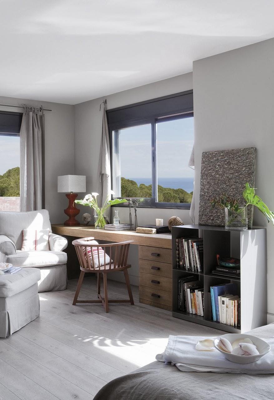 Zonas Dormitorio ~ [Decotips] Zona de trabajo en el dormitorio espa