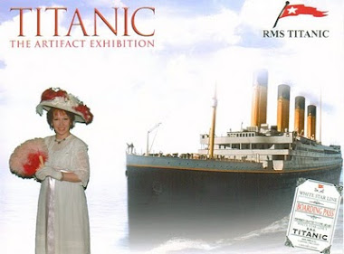 Victoriana Lady At Titanic Exhibition In NYC