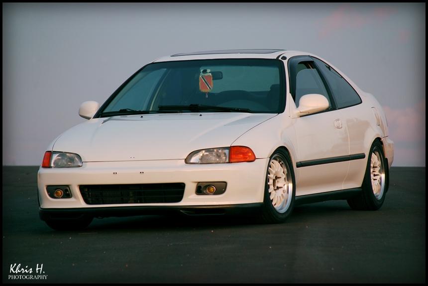 日本車, チューニングカー, ホンダ, Honda civic coupe, VTEC, D15, B16, kultowy, piękny, japoński samochód, sportowy, usportowiony, JDM, tuning, modified, tuned