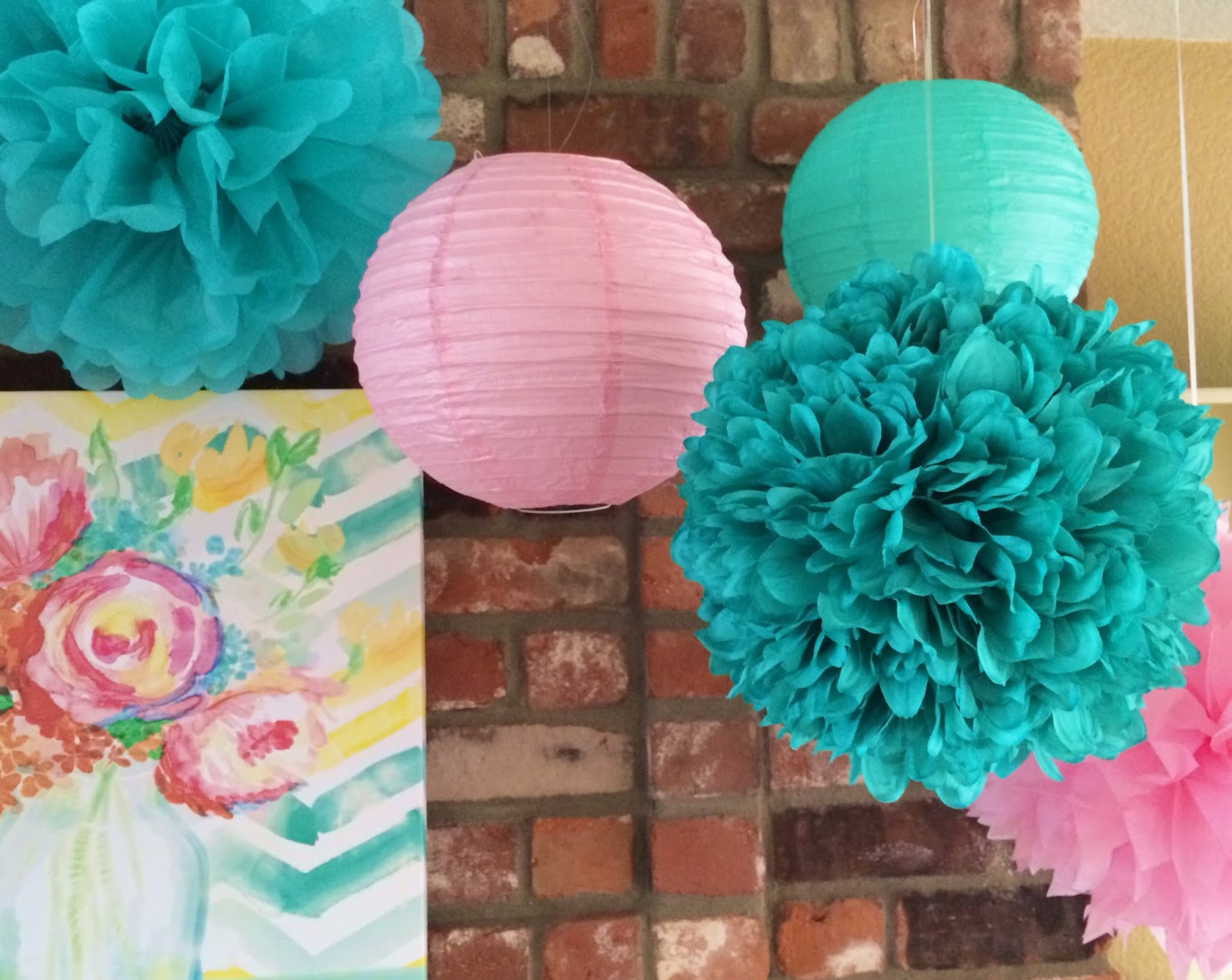 Bunches and bits tissue paper flowers tissue paper flowers one of my favorite things to use for party decorations are tissue balls they are fun to make easy and inexpensive mightylinksfo