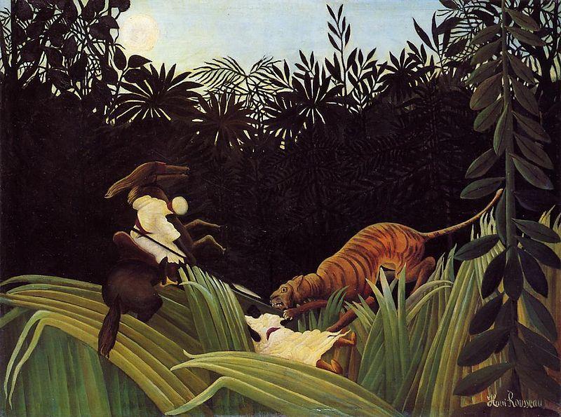 henri rousseau tiger