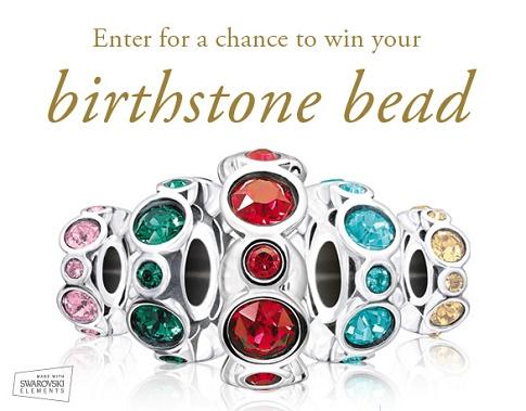 chamilia birthstone bead