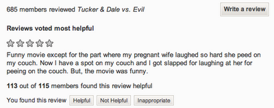 wife peed on my couch review
