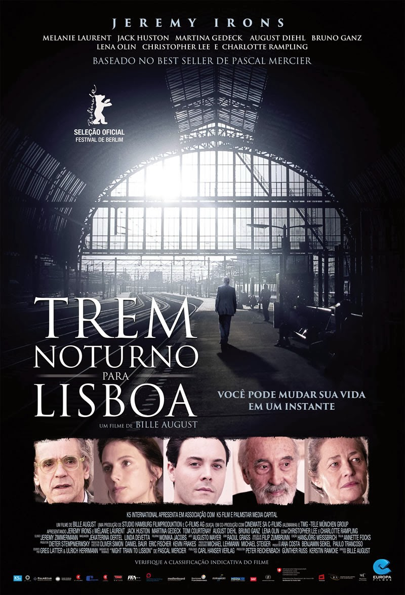 Trem Noturno para Lisboa – Dublado (2013)