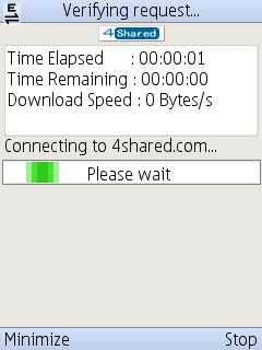 AED Dloader 4.6.0 HandlerUI202 - free download manager for mobile phone
