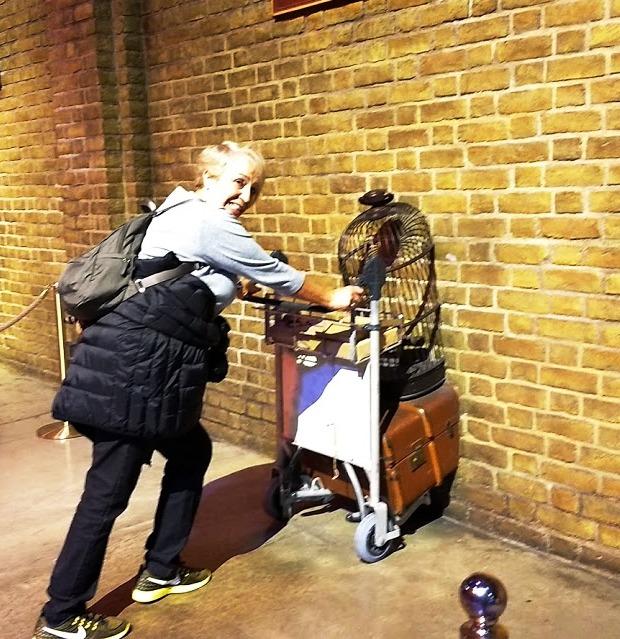 Eu indo para Hogwarts