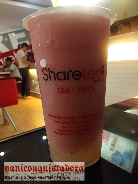 SHARE TEA in Pasig City. Share the World. Share Happiness.