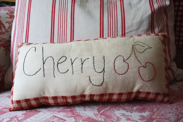cherry pillow