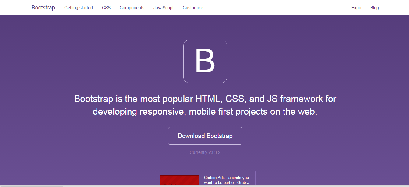 7 situs download template bootstrap gratis hakko blog 39 s for Getbootstrap com templates
