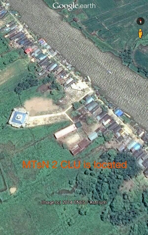 Lokasi MTsN 2 CLU