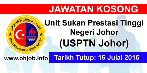 Jawatan Kerja Kosong Unit Sukan Prestasi Tinggi Negeri Johor logo www.ohjob.info julai 2015