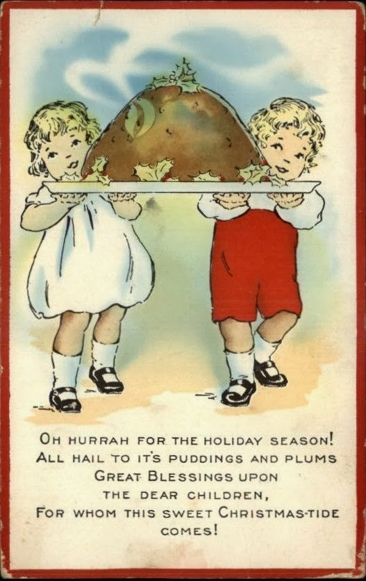 Nothing But Limericks: A Christmas Pudding Limerick - Vintage ...