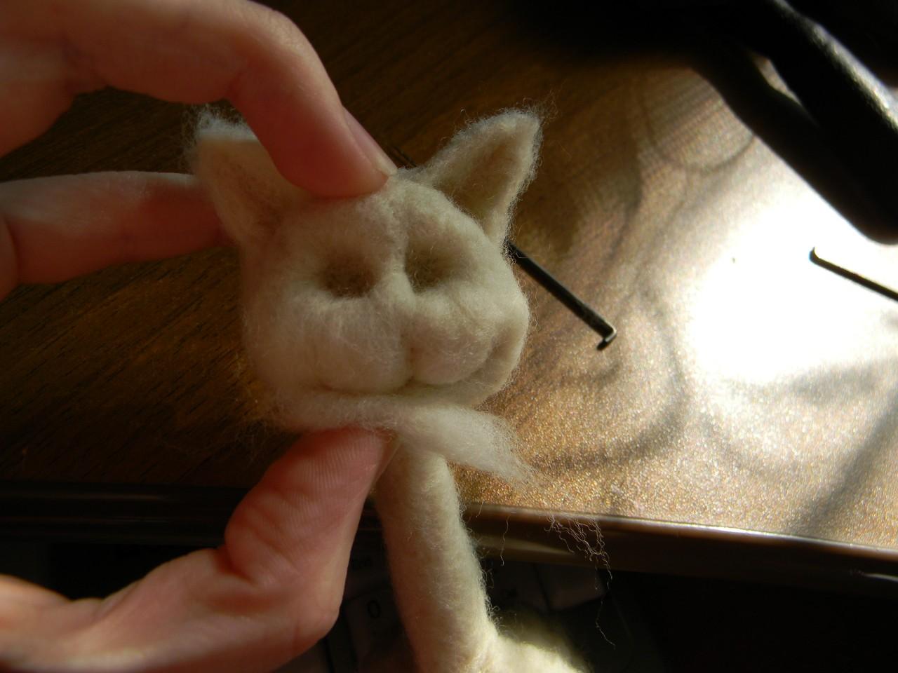 Как сделать из кошачьей шерсти 966