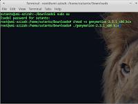 Cara install .bin file di linux xubuntu
