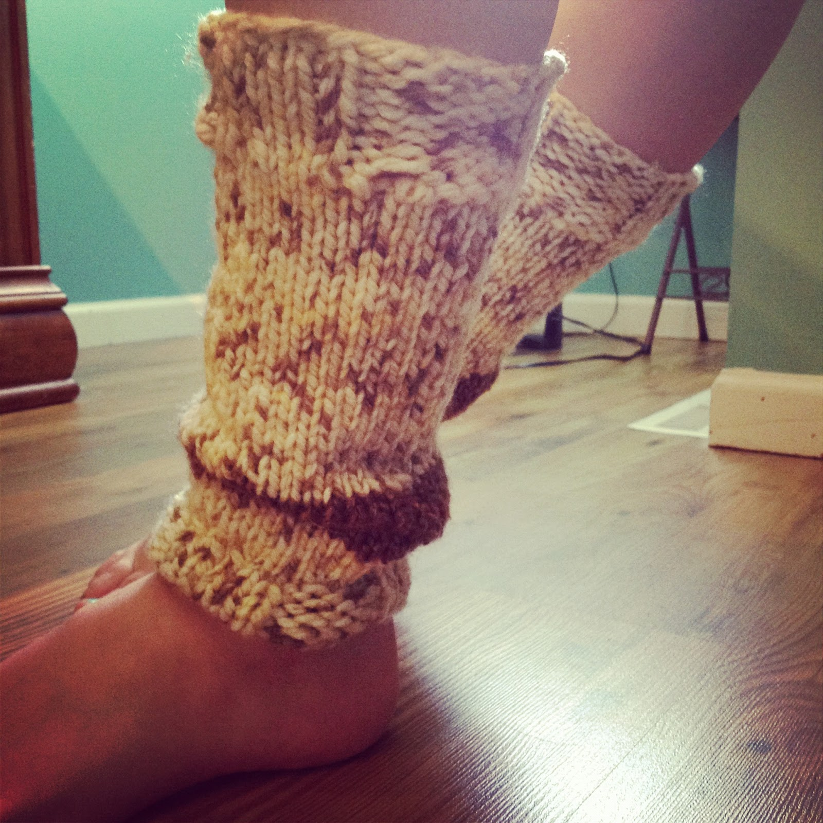 Knitting Pattern For Chunky Leg Warmers : Lexalex: Tips for Knitters: Knit Gifts for the Holidays