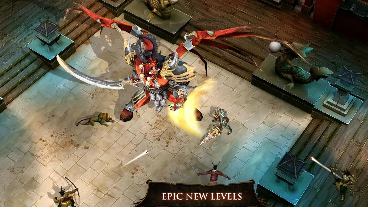 Dungeon Hunter 4 apk epic new levels