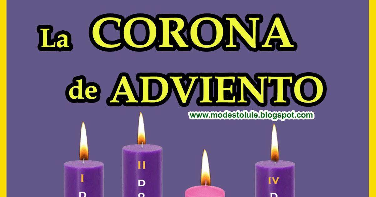 Modesto lule zavala la corona de adviento explicaci n y oraci n para encender velas - Velas adviento ...