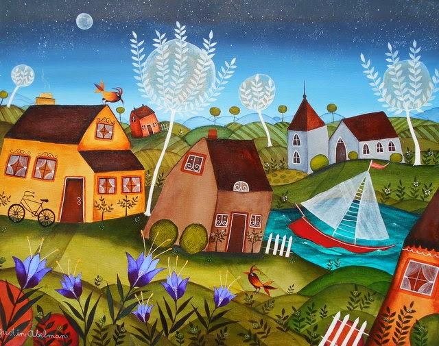 The Topsy Turvy Village