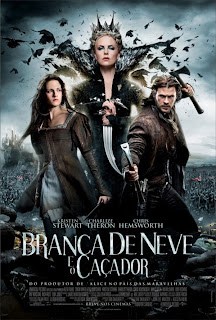 snow white and the huntsman poster frances 17abril2012 Download   Branca de Neve e o Caçador TS AVI + RMVB Dublado