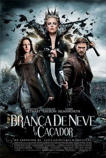 snow white and the huntsman poster frances 17abril2012 Download   Branca de Neve e o Caçador TS AVI + RMVB Dublado