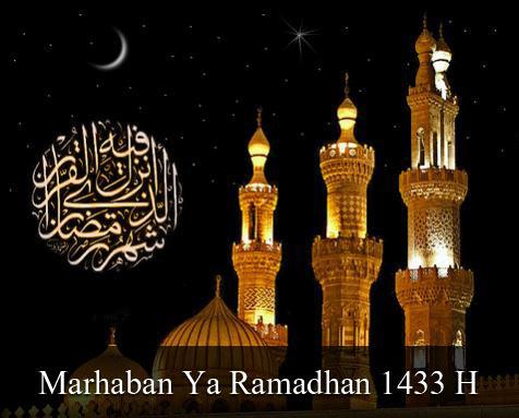marhaban ya ramadhan 1433H