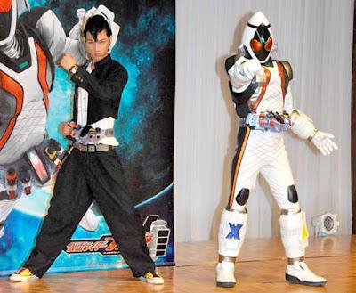 Kamen Rider Fourze Character Profiles