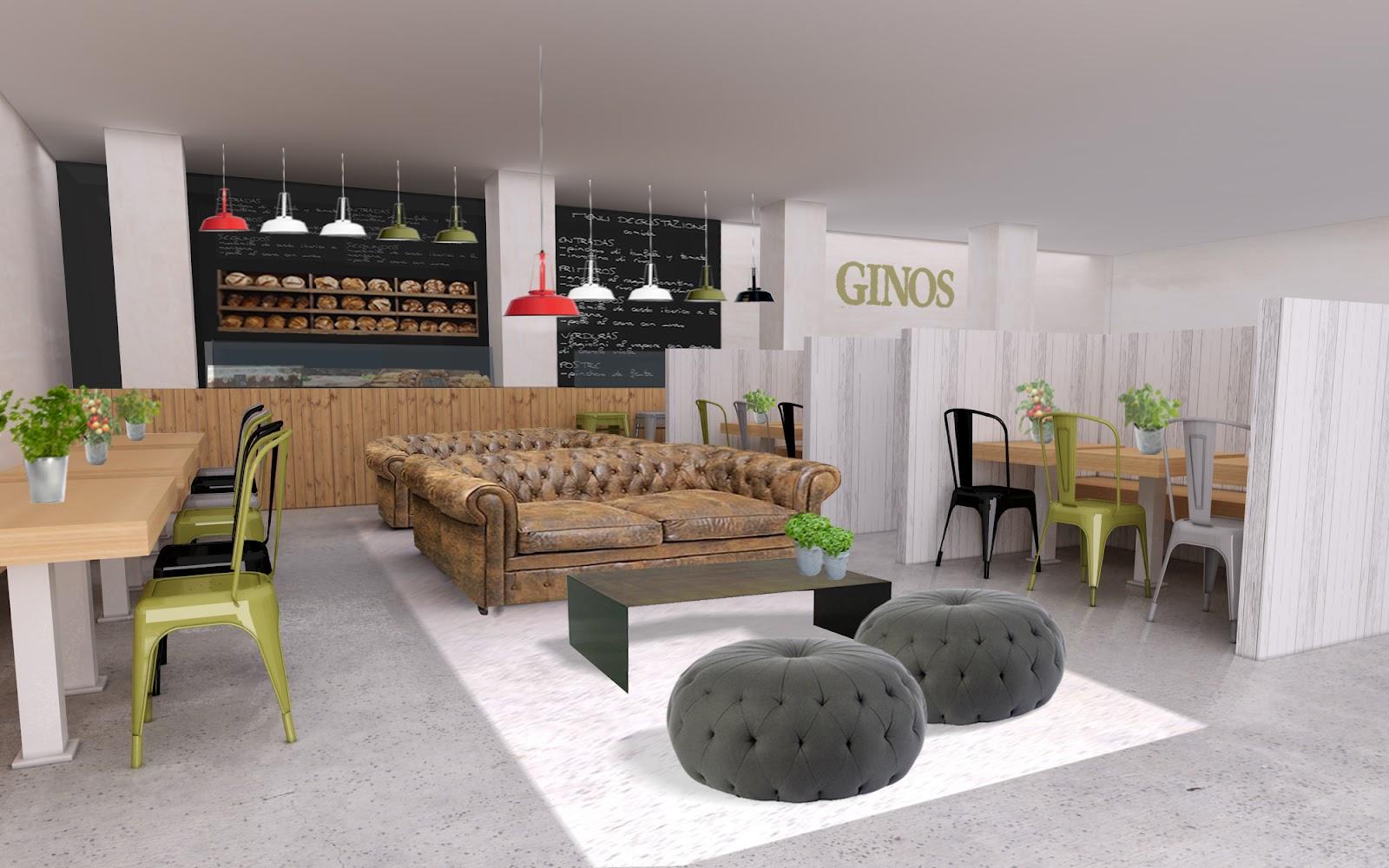 Ginos Restaurante Dise O Interior Ginos Restaurant