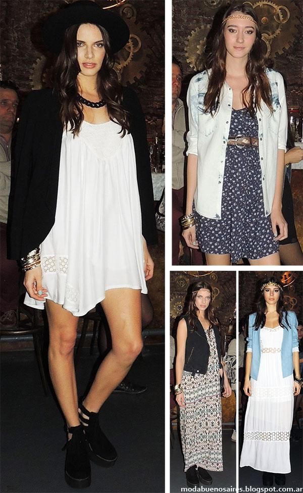 Vestidos primavera verano 2015 Inédita. Moda 2015 Argentina. Vestidos 2015.