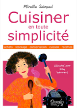 "Mon livre ""Cuisiner en toute simplicit"" (Editions Dangles)"