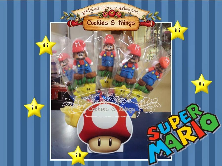 Bombones Mario Bros
