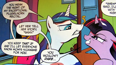 Shining Armor v Twilight Sparkle!