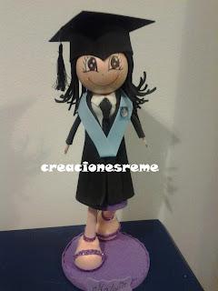 fofucha-creacionesreme-personalizadas-foami -graduada