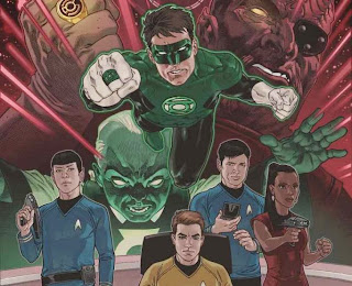 Green Lantern to crossover with Star Trek