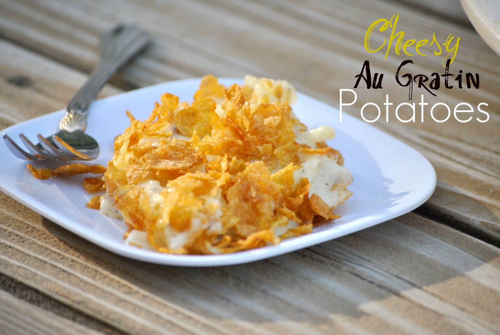 The Farm Girl Recipes: Cheesy Au Gratin Potatoes