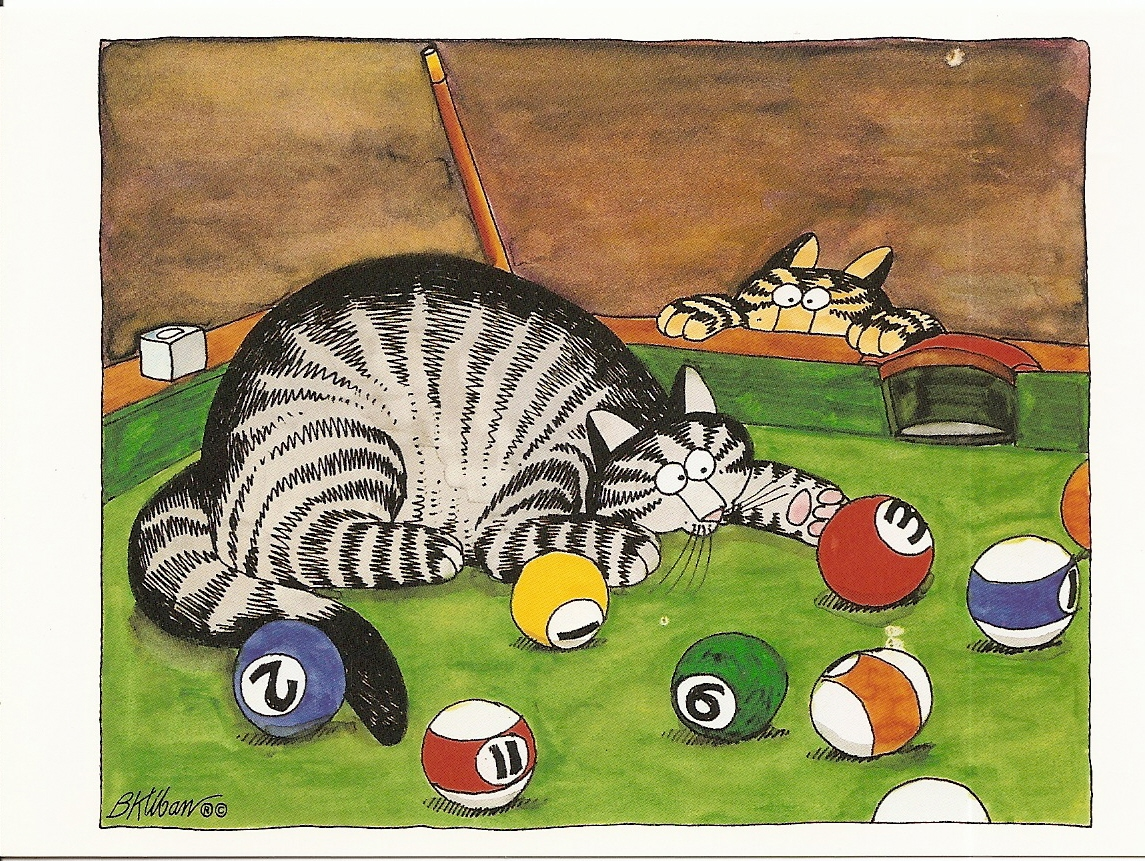 I Never Get Tired Of These Kliban Cat Drawings