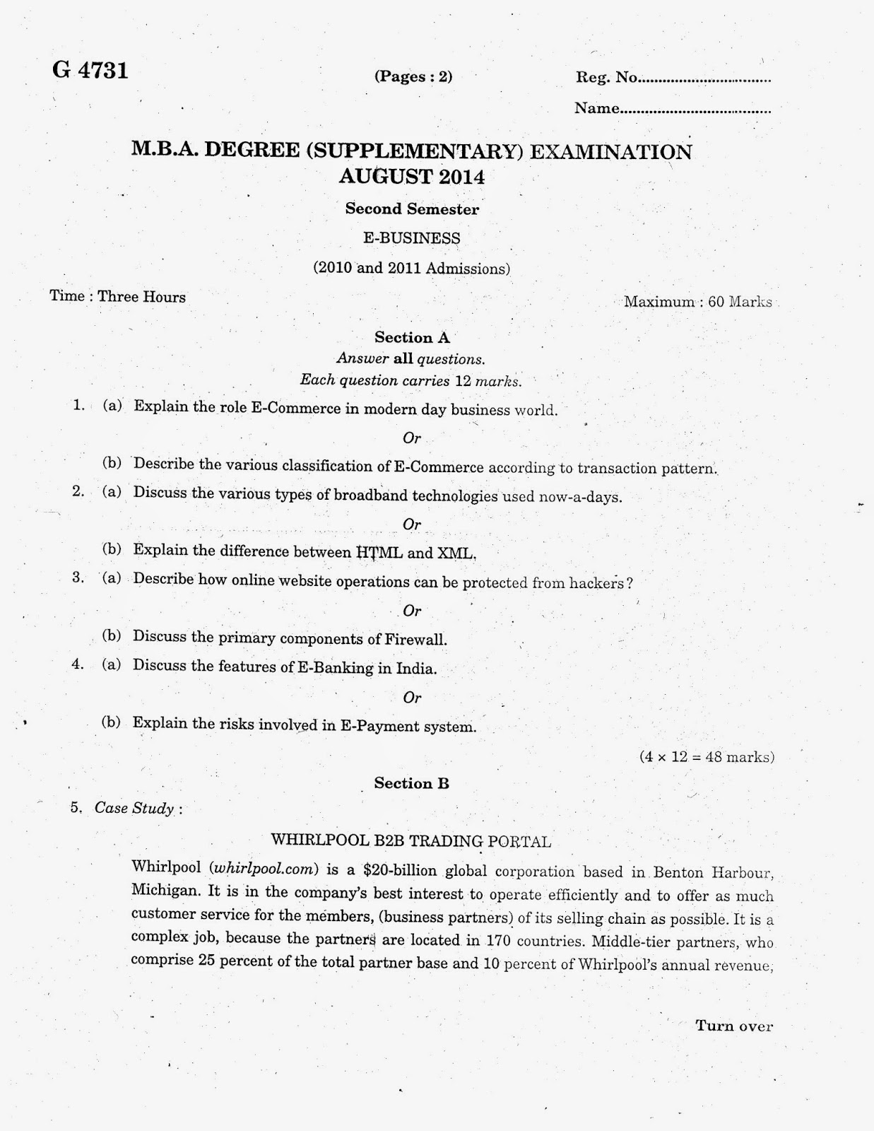 2nd semester mba papers isbm Jntua mba 2nd semester previous papers – welcome to the page of jntua mba 2nd semester previous question papers students of jntu anantapur university can find the previous papers here we can assure that the previous papers provided here are accurate to get more details candidates can check this post completely.