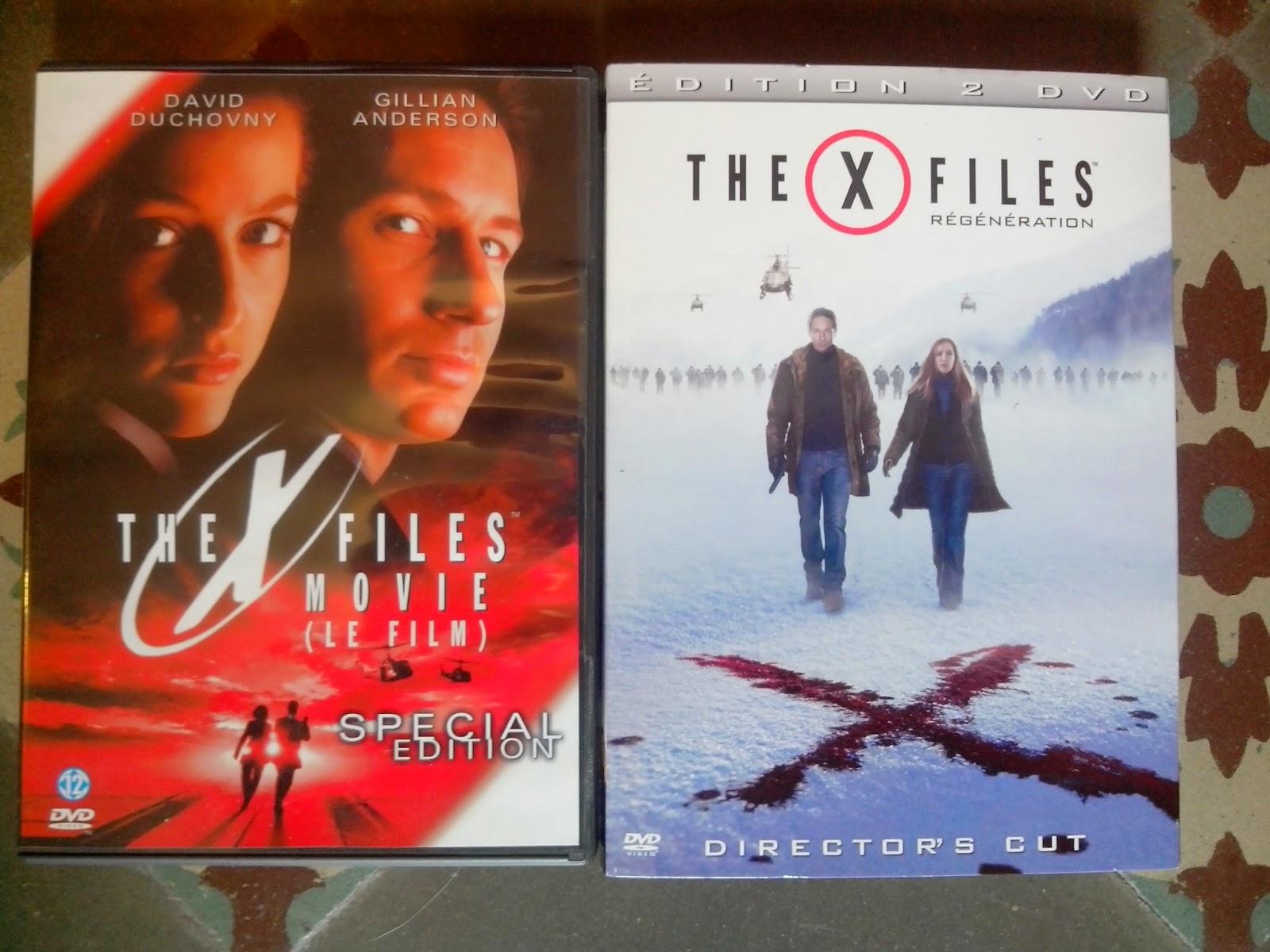 Divers DVD a vendre X%2BFiles