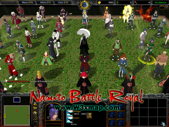 Map Naruto Battle Royal 6.4 By The Red Wolf: Teeth