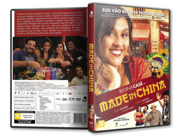 Capa DVD Made In China