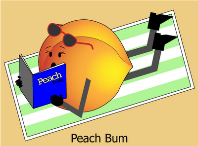 Peach Bum