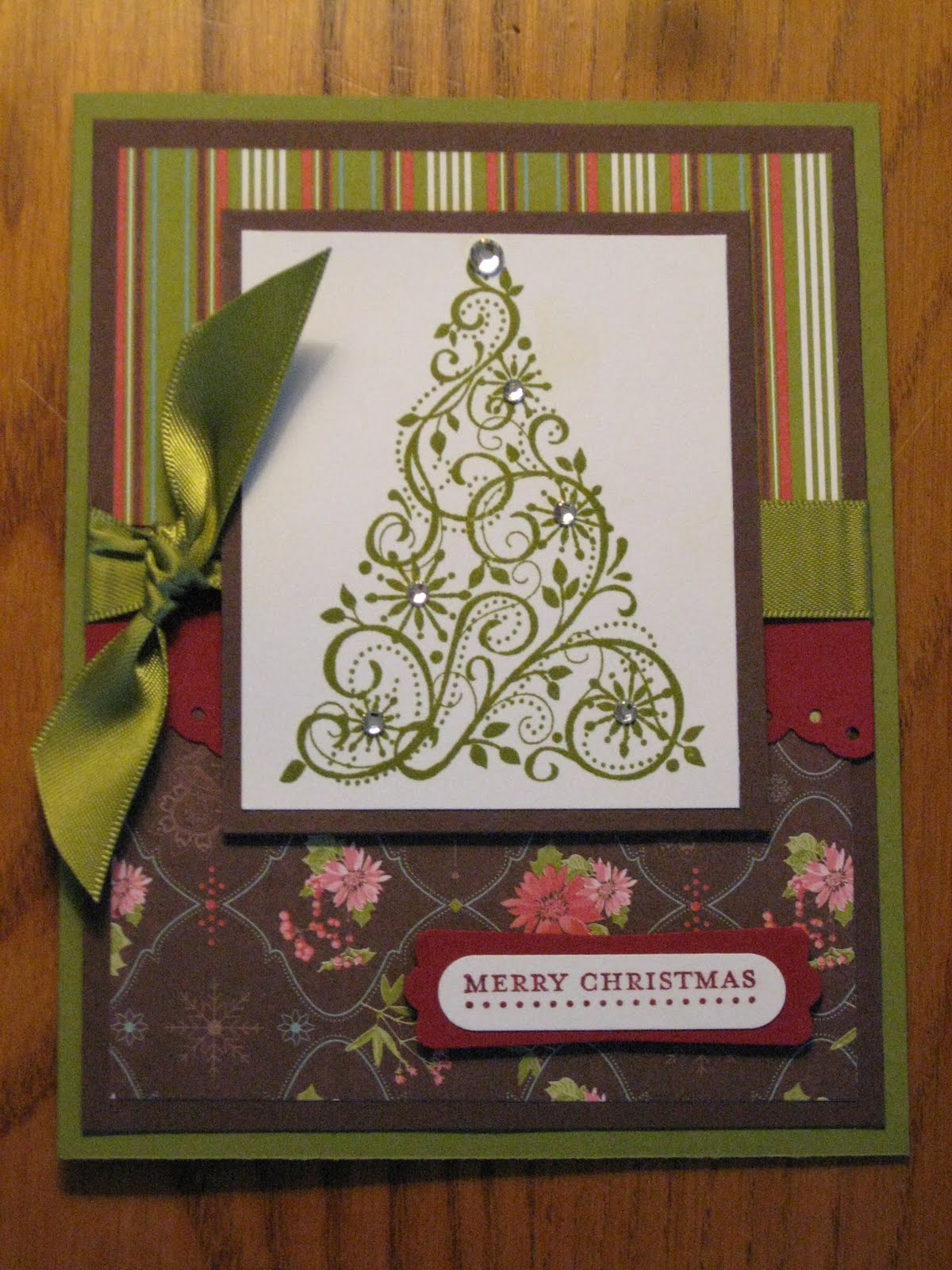 Melissa 39 s stampin memories handmade christmas cards for for Handmade christmas cards