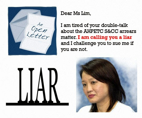 Worker's party scandal sylvia lim AHPETC