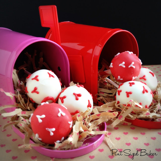 You've got a Special Delivery! These little Love Bugs have some Valentine treats for someone I love! Check out these perfect cake pops!