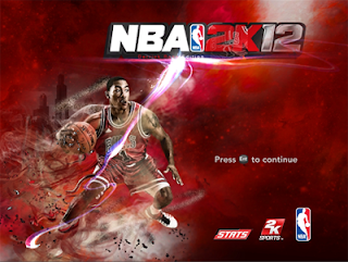 NBA 2K12 Custom Startup Screen for PC