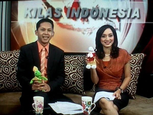 Isabella Fawzi (Kilas Indonesia) dgn Modo dan Modi, Gobal TV, Nov 2011