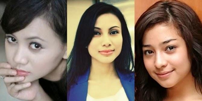 Inilah Lima Wanita cantik pasangan bintang sepakbola Indonesia