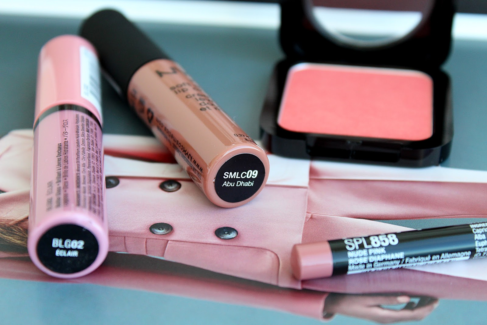 NYX Soft Matte Lip Cream Review, NYX HD Blush Review, NYX Butter Gloss Review