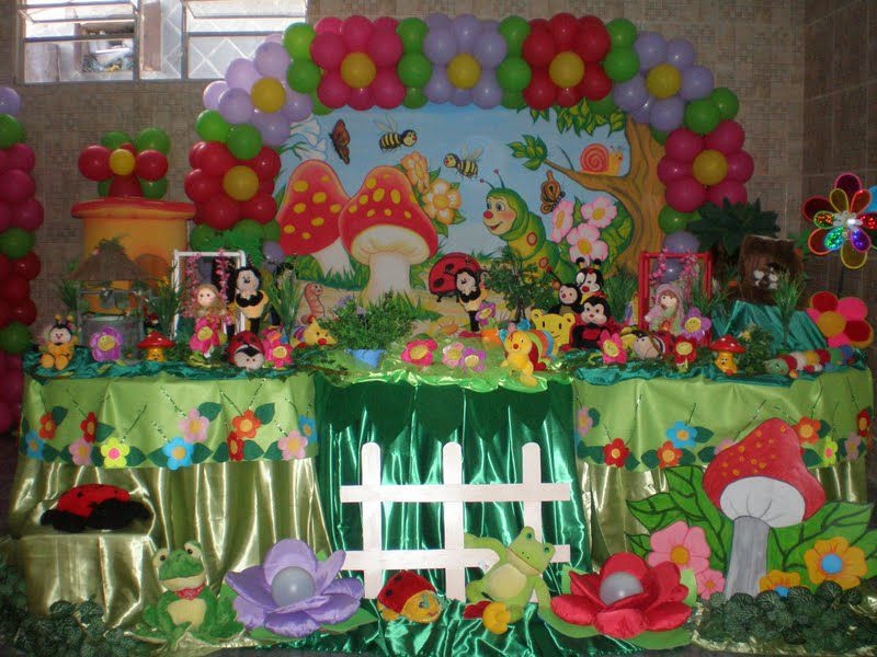 decoracao infantil jardim encantado provencal : decoracao infantil jardim encantado provencal:Artes & Festas: Jardim Encantado