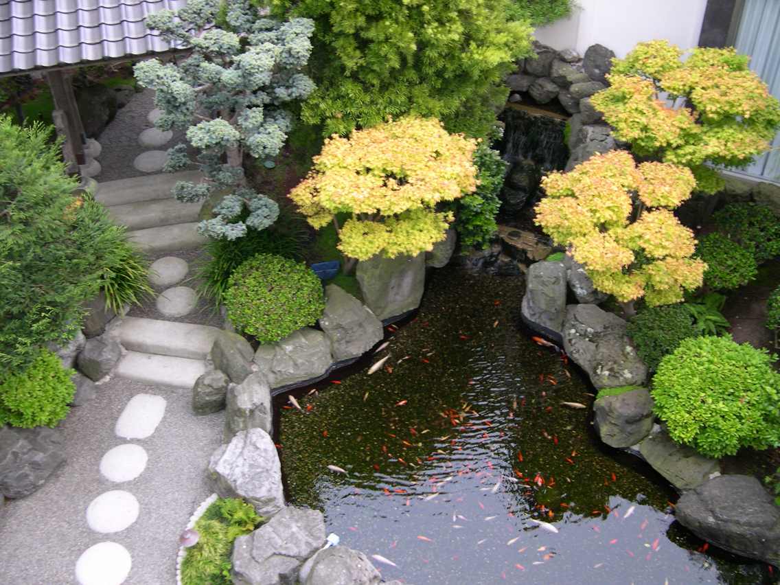 Decorating tropical garden native home garden design for Japanese garden designs for small gardens