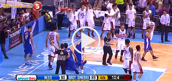 Ginebra def. NLEX, 91-90 (REPLAY VIDEO) December 13
